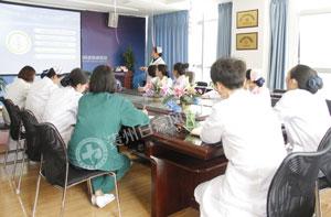 贵州白癜风医院医护培训|加强制度学习 确保护理安全